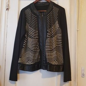 Fashion to Figure gold studded jacket